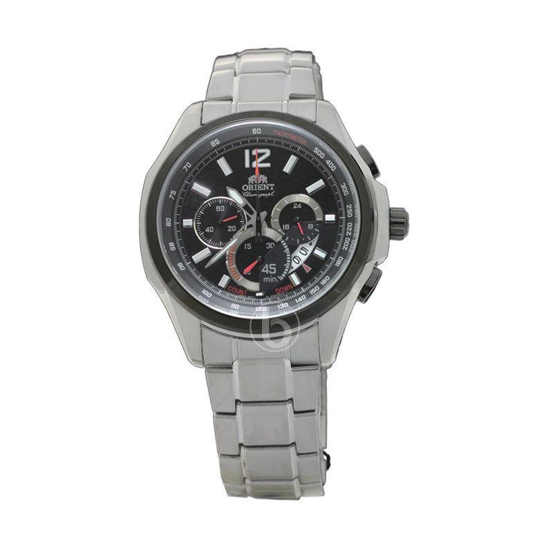 harga Orient FSY00001B0 Quartz Stopwatch Chronograph Jam Tangan Pria [10 Bar] Blibli.com