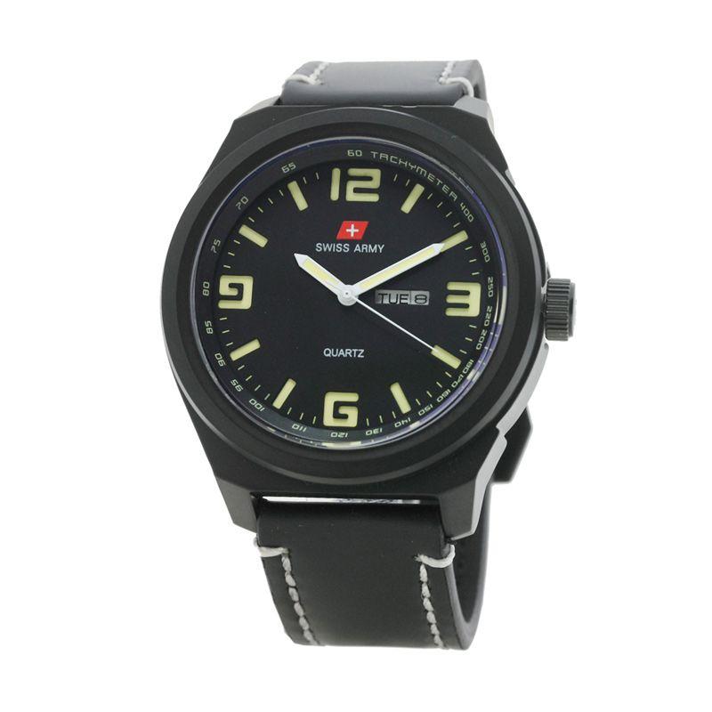 Swiss Army SA73852MA Ipb4 Hitam Jam Tangan Pria