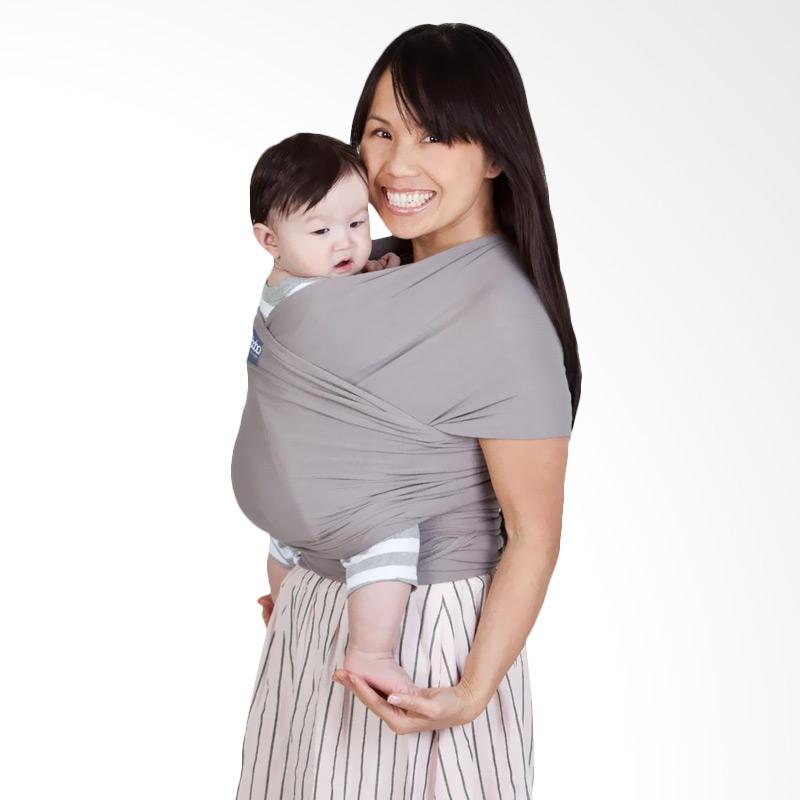Boba Wrap Gendongan Bayi - Grey