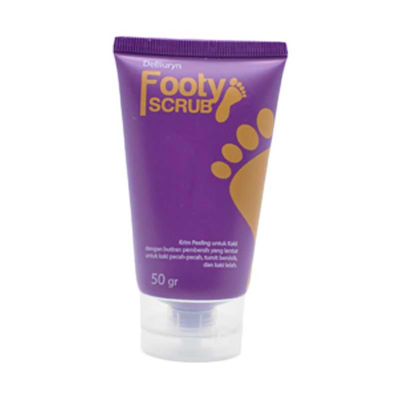 DeBiuryn Footy Scrub [ 50 g / Krim Peeling Kaki & Tumit / Cracked Heel Repair / Foot / Feet Treatment ]