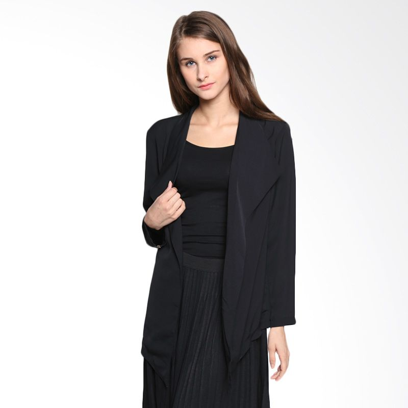 Body Talk Ladona 64002T8BK Black Blazer