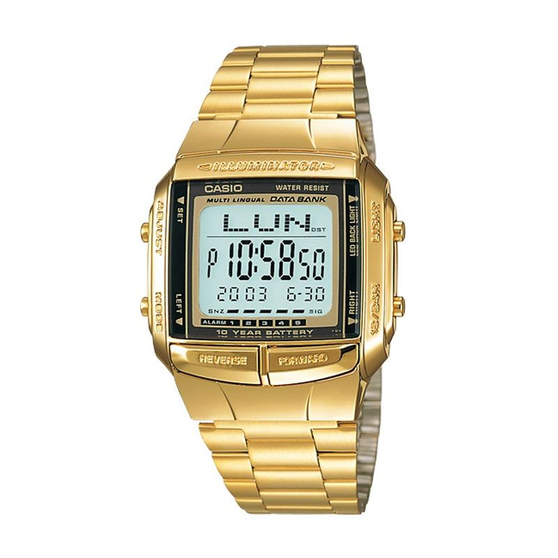 Casio Data Bank DB-360G-9A Jam Tangan Pria