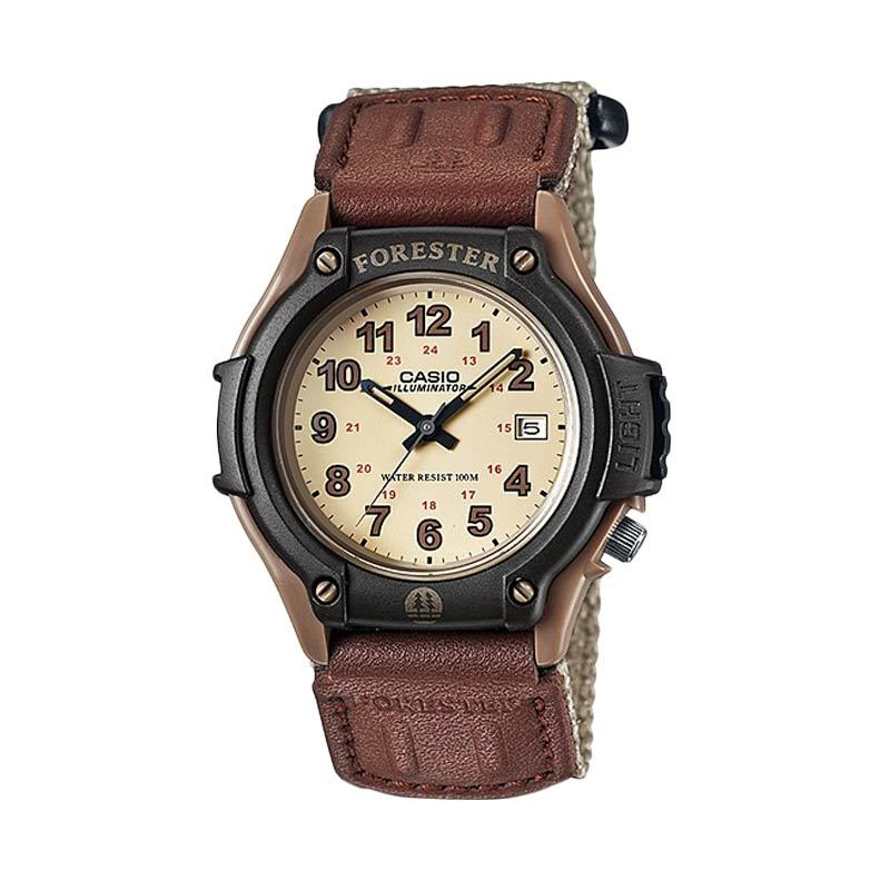 Casio Standard FT-500WC-5BV Brown Jam Tangan Pria