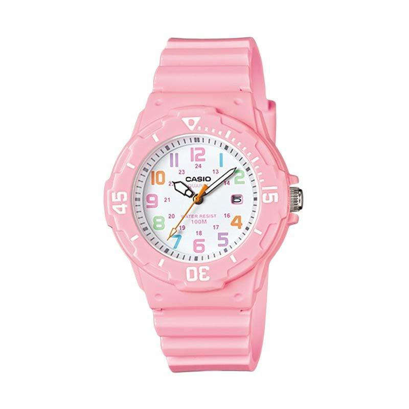 Casio Standard LRW-200H-4B2V Pink Jam Tangan Wanita