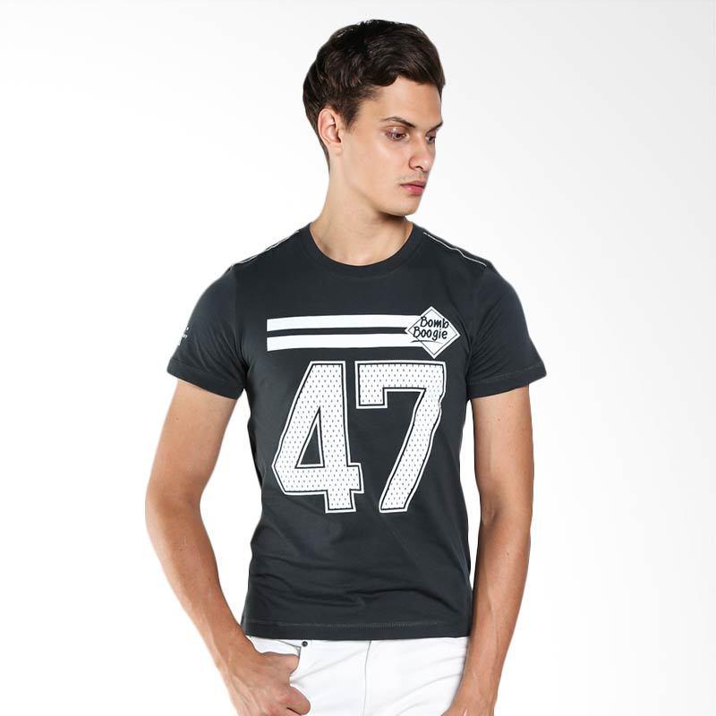 BOMBBOOGIE Hockey Skeleton Tee 12644B4DG Dark Grey T-Shirt Extra diskon 7% setiap hari Extra diskon 5% setiap hari Citibank – lebih hemat 10%