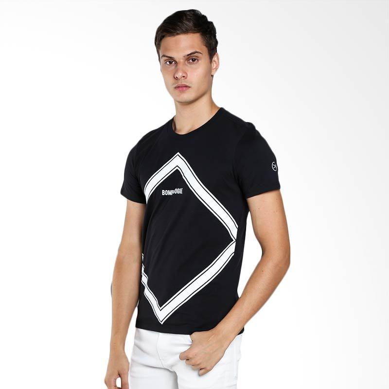 BOMBBOOGIE Upstair Tee 12665B4BK Black T-Shirt Extra diskon 7% setiap hari Extra diskon 5% setiap hari Citibank – lebih hemat 10%