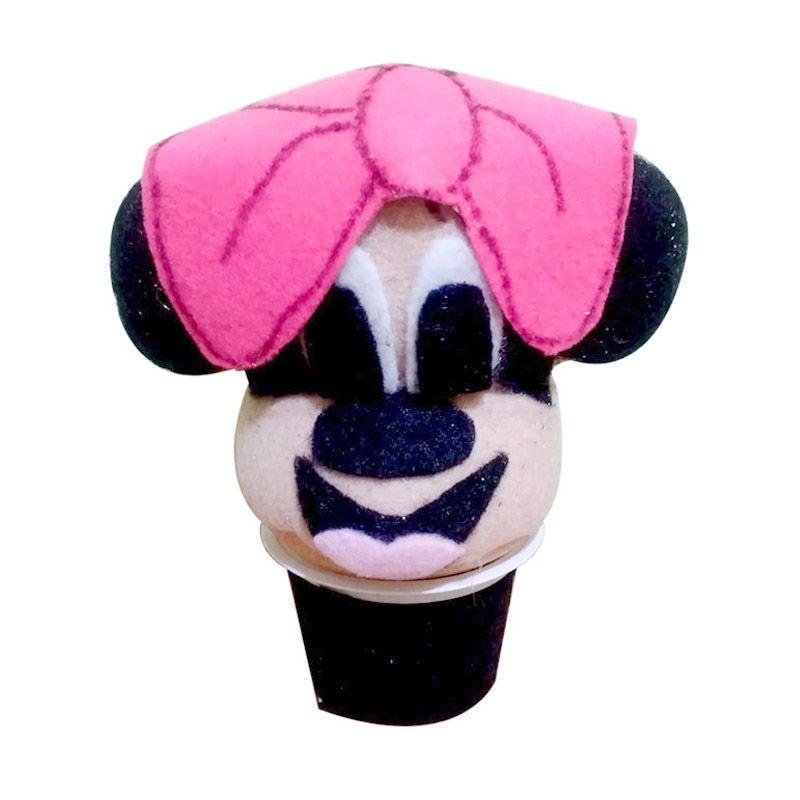 Boneka Horta Minnie Mouse Kerajinan Tangan