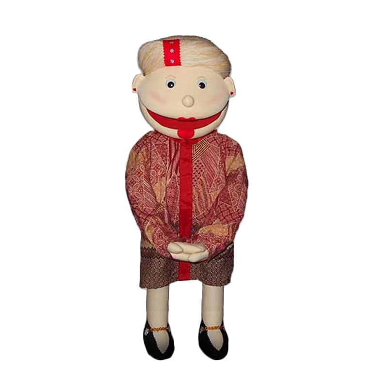 Boneka Panggung Orang Nenek Minah Boneka