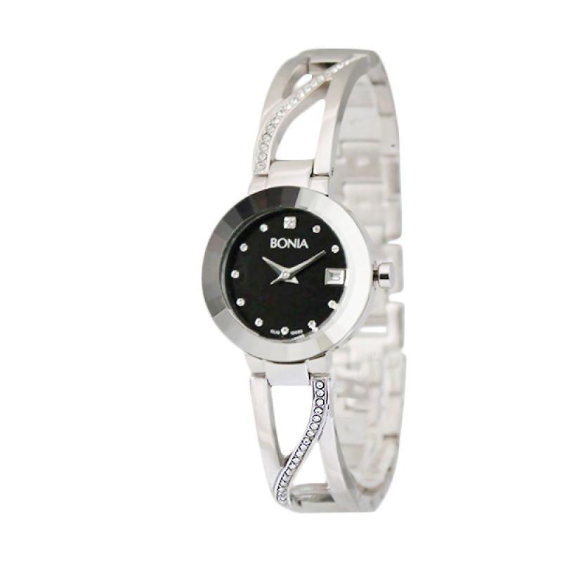 Bonia BN10095-2337 Silver Jam Tangan Wanita