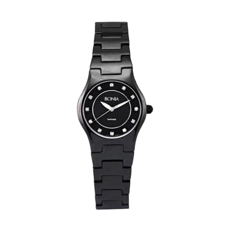 Bonia BN871-2437 Black Jam Tangan Wanita