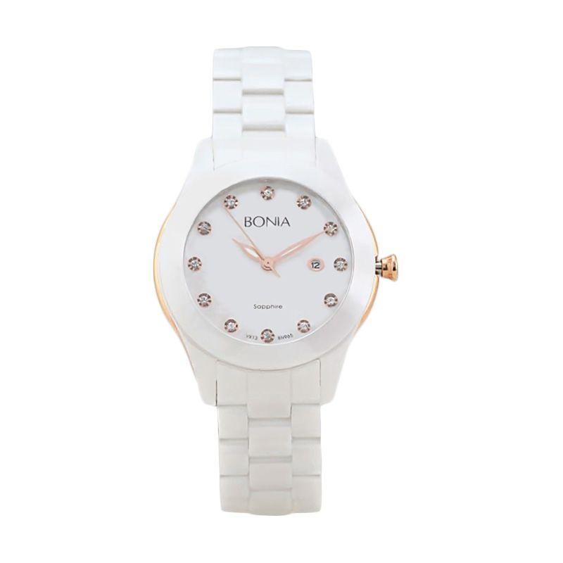 Bonia BN965-2517 White Jam Tangan Wanita