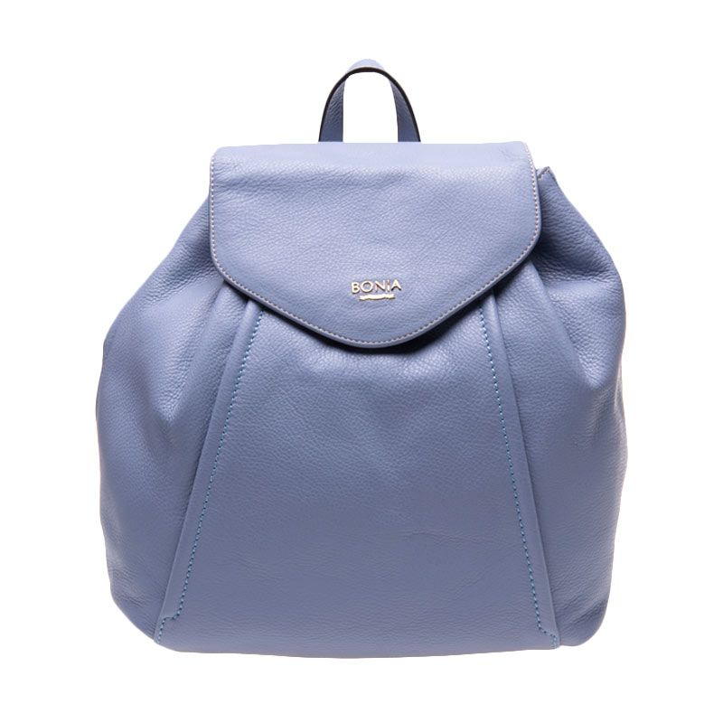 Bonia Full leather Maya Violet Tas Ransel