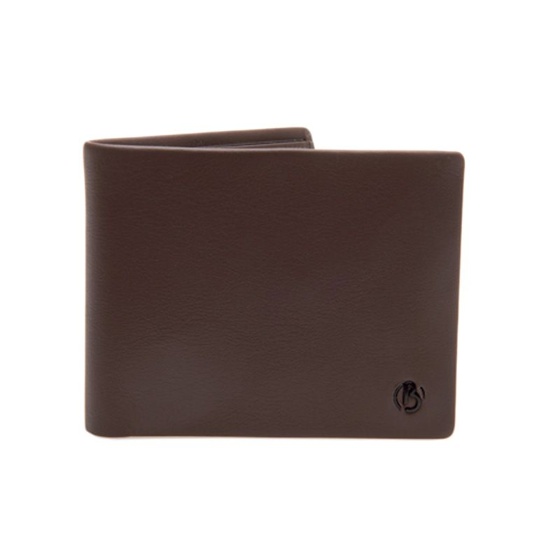 Bonia Rty Short 2 Fold Card Leather Brown Dompet