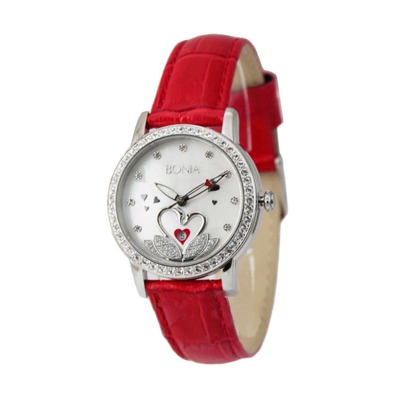 harga BONIA BN10106-2367S Red Jam Tangan Wanita Blibli.com