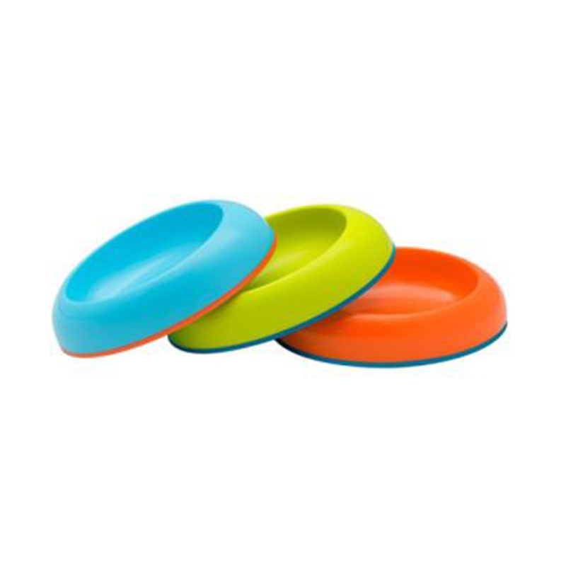 Boon Dish Edgeless Stay-Put Bowl - Blue Orange Green