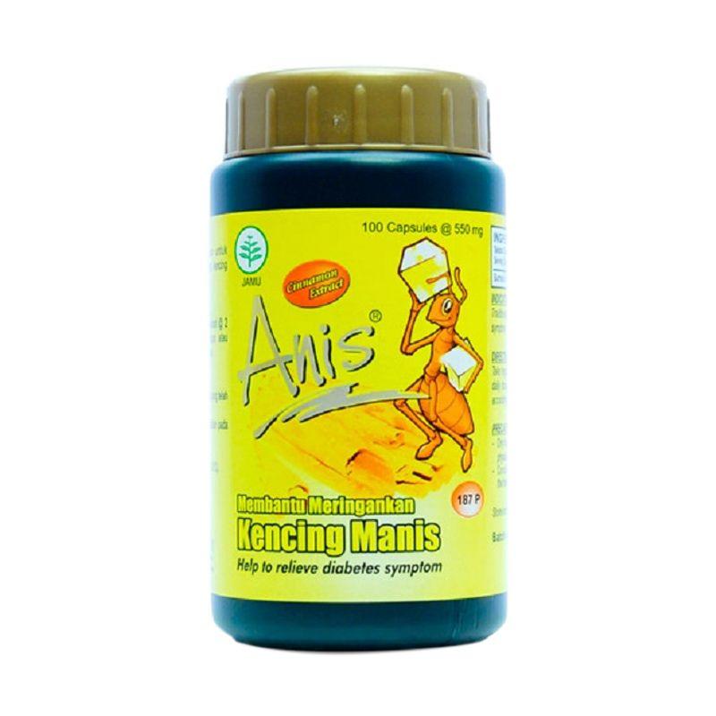 Borobudur Herbal Anis Multivitamin [100 Kapsul]
