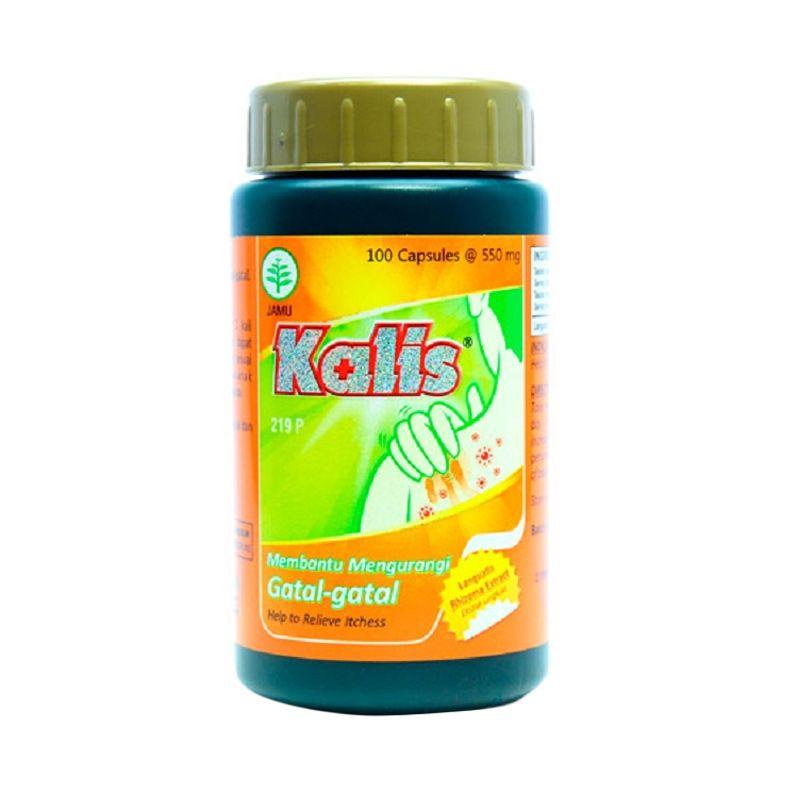 Borobudur Herbal Kalis Multivitamin [100 Kapsul]