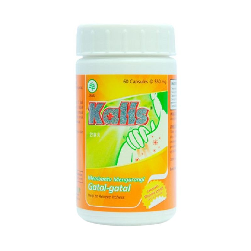 Borobudur Herbal Kalis Multivitamin [60 Kapsul]