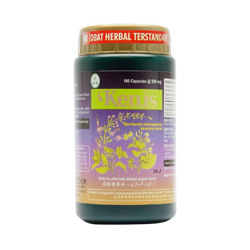 Borobudur Herbal Kenis Multivitamin [100 Kapsul]