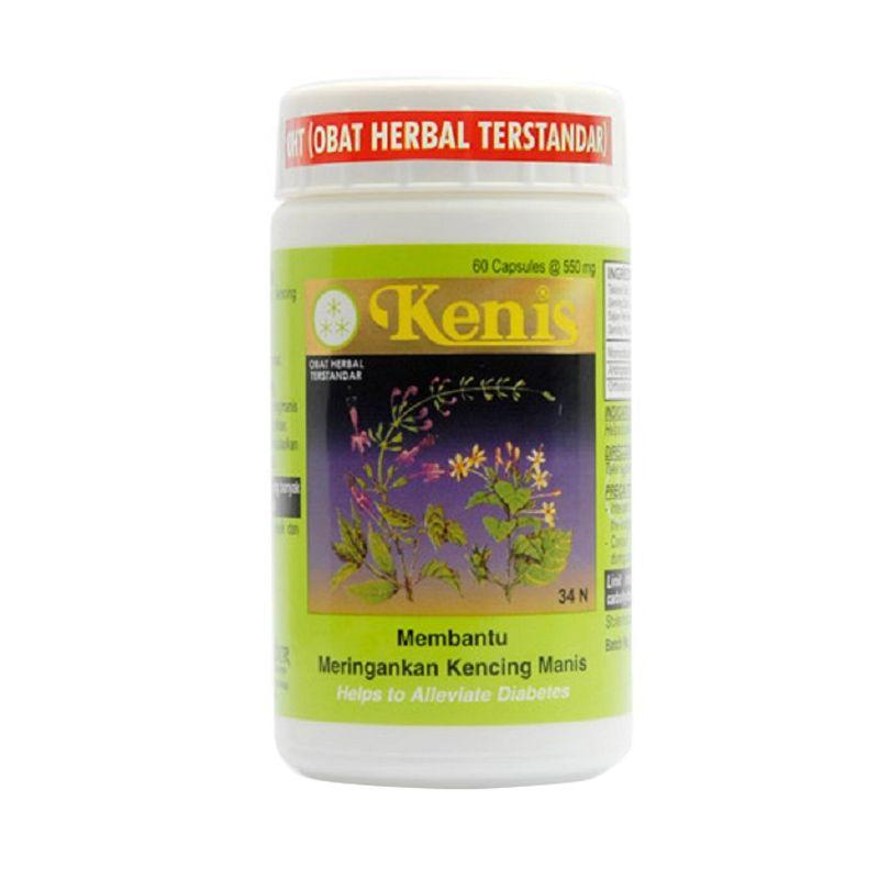 Borobudur Herbal Kenis Multivitamin [60 Kapsul]