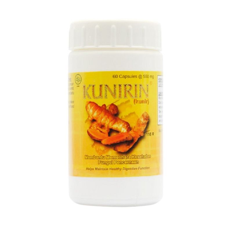 Borobudur Herbal Kunirin Multivitamin [60 Kapsul]