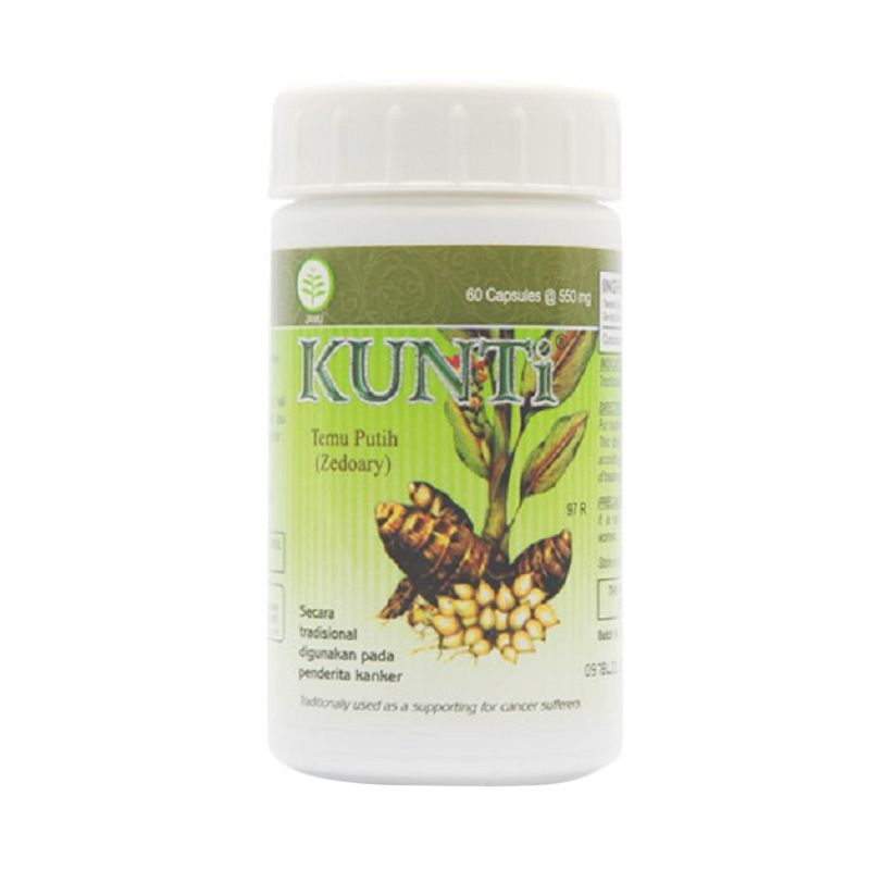Borobudur Herbal Kunti Multivitamin [60 Kapsul]