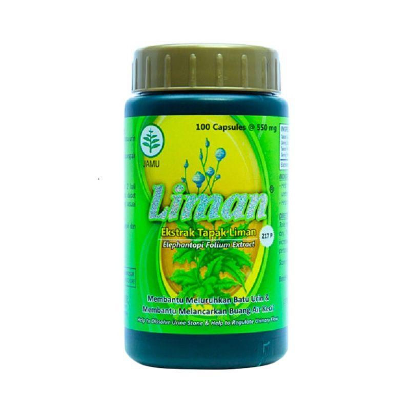 Borobudur Herbal Liman Multivitamin [100 Kapsul]