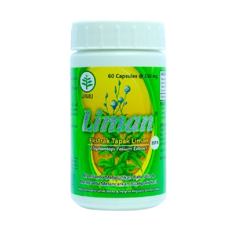 Borobudur Herbal Liman Multivitamin [60 Kapsul]