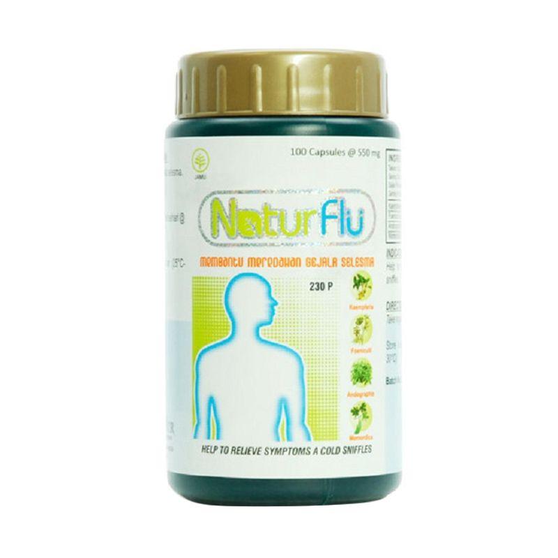 Borobudur Herbal Natur Flu Multivitamin [100 Kapsul]