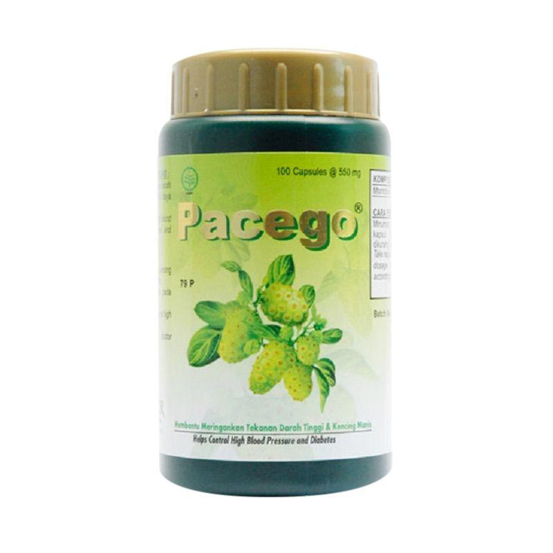 Borobudur Herbal Pacego Multivitamin [100 Kapsul]