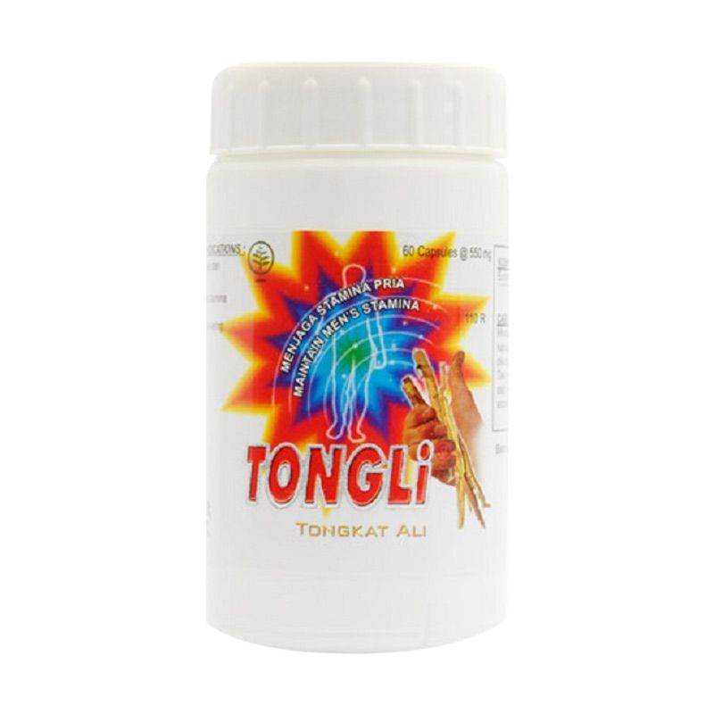 Borobudur Herbal Tongli Multivitamin [60 Kapsul]