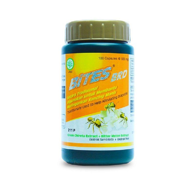 Borobudur Herbal Bites Multivitamin [100 Kapsul]