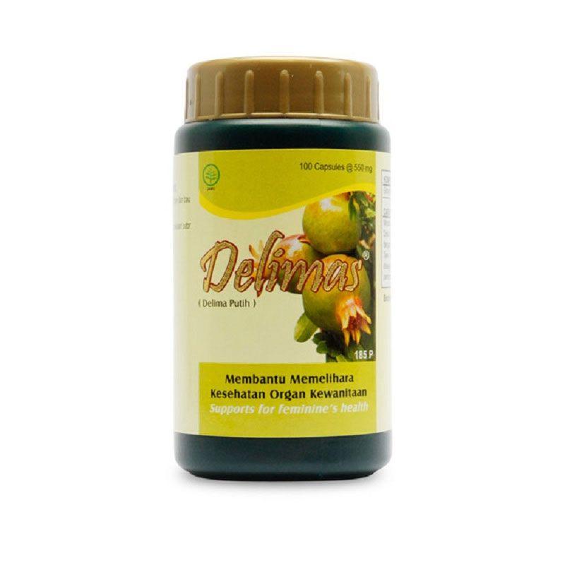 Borobudur Herbal Delimas Multivitamin [100 Kapsul]