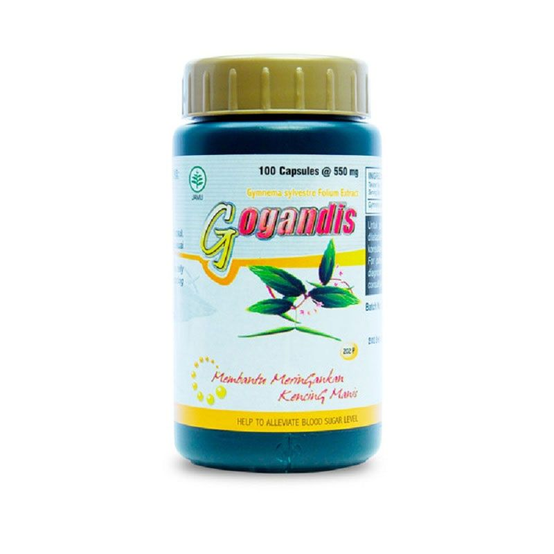 Borobudur Herbal Gogandis Multivitamin [100 Kapsul]