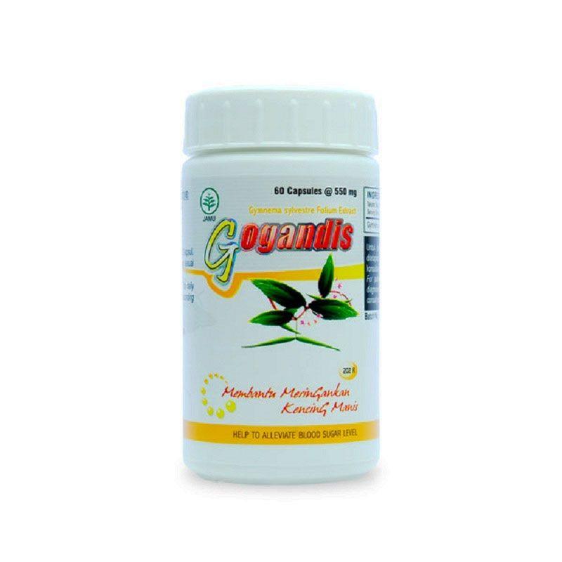 Borobudur Herbal Gogandis Multivitamin [60 Kapsul]