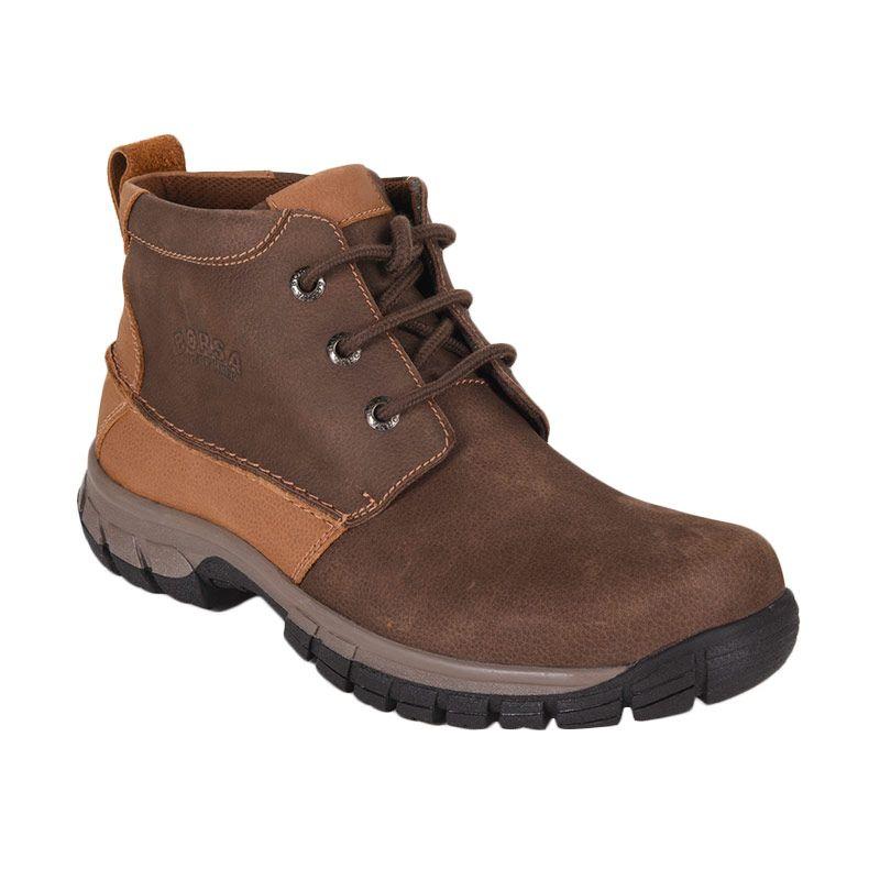 Borsa Mickey A92704 Dark Brown Sepatu Pria