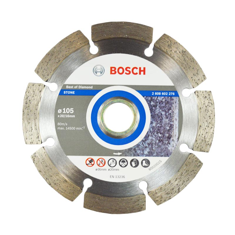 Bosch Diamond Disc S.ECO For GRNT 105 [4 Inch x 20/16 x 1.7 mm]