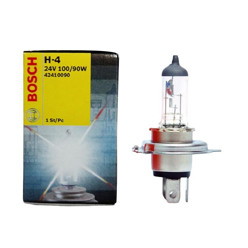 Bosch Halogen H4 P43T Headlights Bohlam Lampu Depan Mobil [24 V/100 - 90 W]