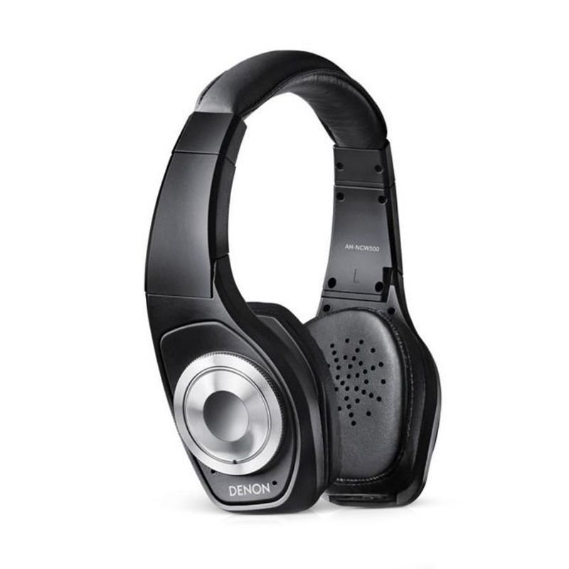 Denon AHNCW 500 Hitam Bluetooth Headphone & AHW 150 Bluetooth Earphone