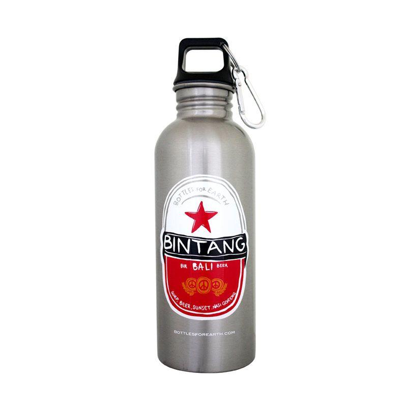 Bottles For Earth Bintang Silver 750 ml