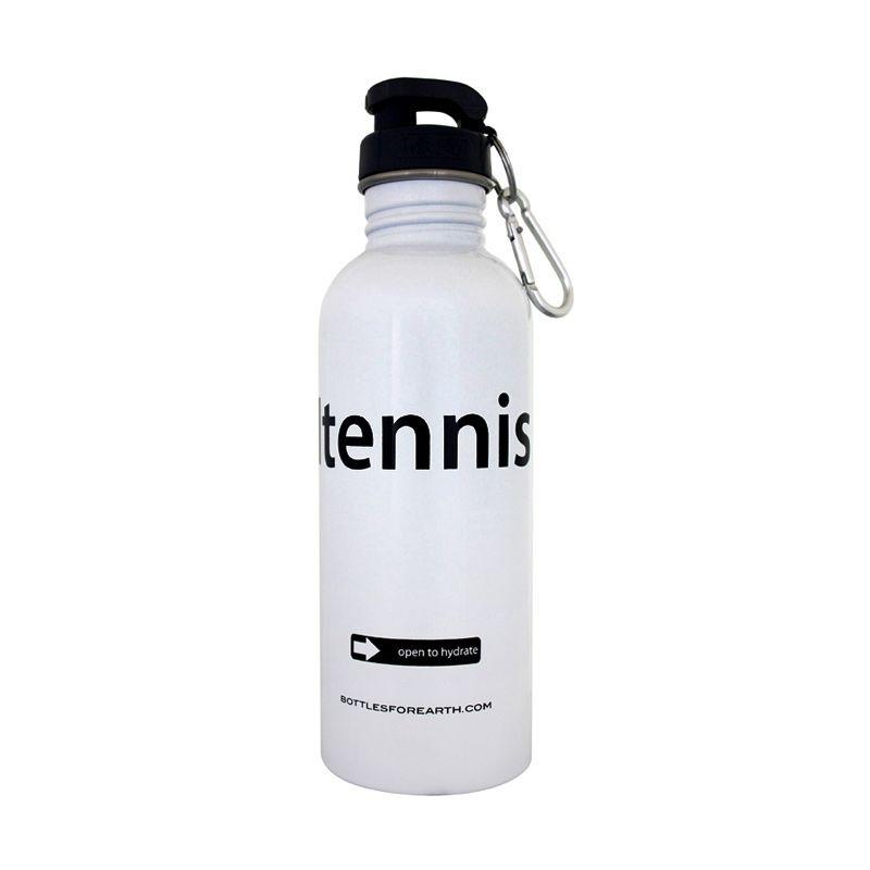 Bottles For Earth I Tennis White Botol Minum [750 mL]