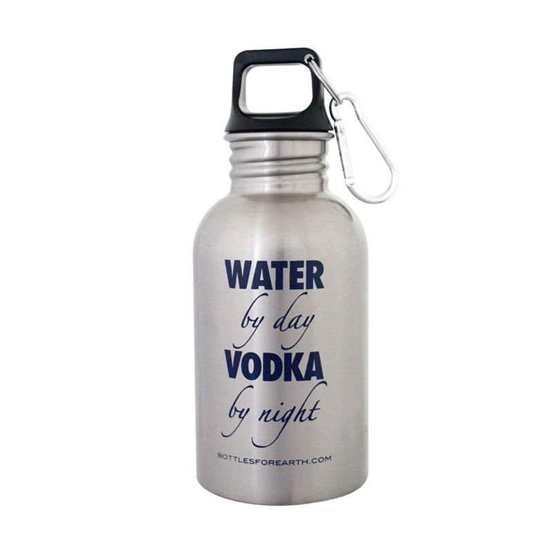 Bottles For Earth Water by Day Vodka by Night 500 ml