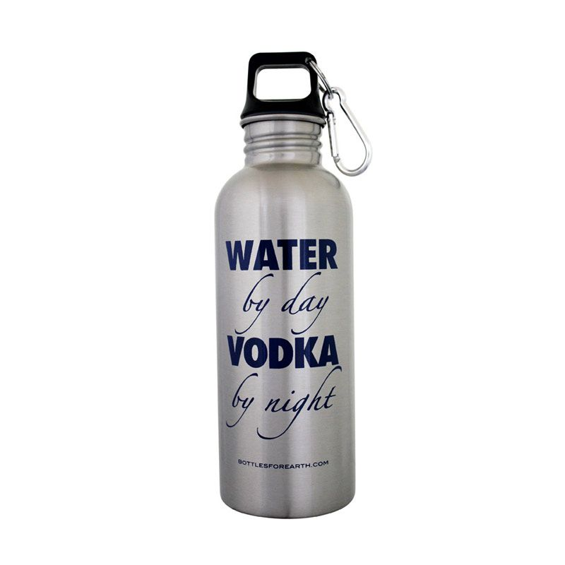 Bottles For Earth Water by Day Vodka by Night 750 ml
