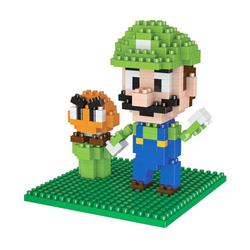 Boyu 8131A Luigi Mainan Block & Puzzle