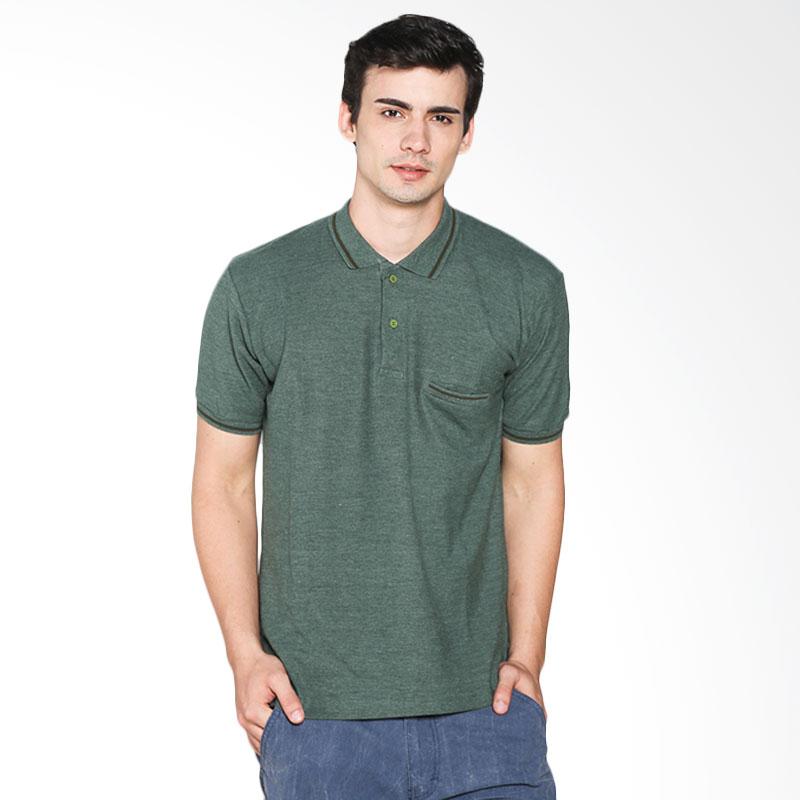 Brand Revolution 507069003333 Ricman Polo Shirt - Green Extra diskon 7% setiap hari Extra diskon 5% setiap hari Citibank – lebih hemat 10%
