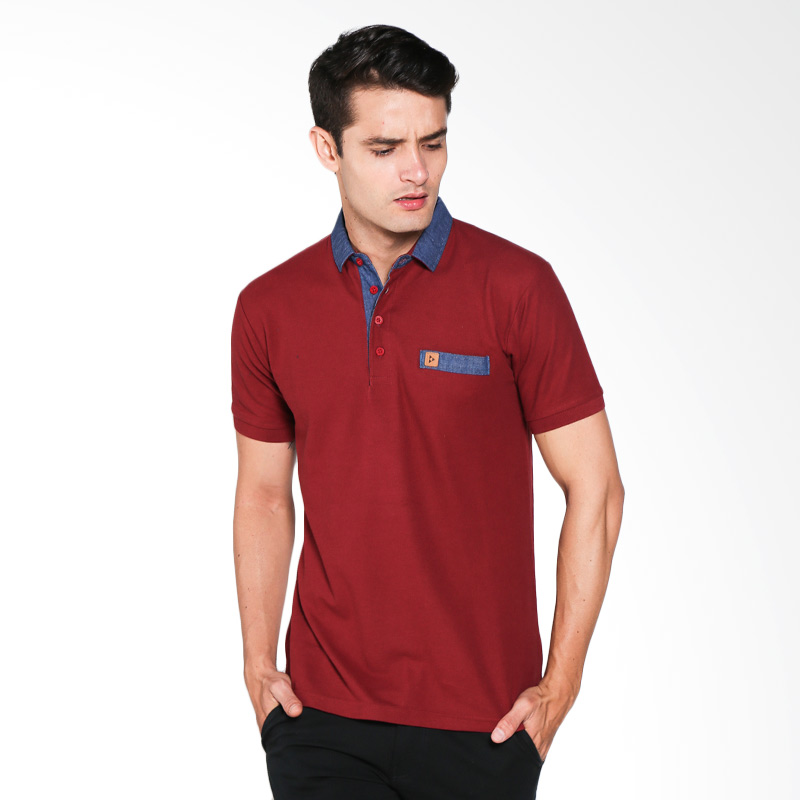 Brand Revolution Shine 507046003333 Polo Shirt - Maroon Extra diskon 7% setiap hari Extra diskon 5% setiap hari Citibank – lebih hemat 10%