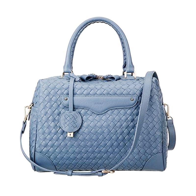 BRERA Glamour Mesh Blue Handbag Tas Tangan
