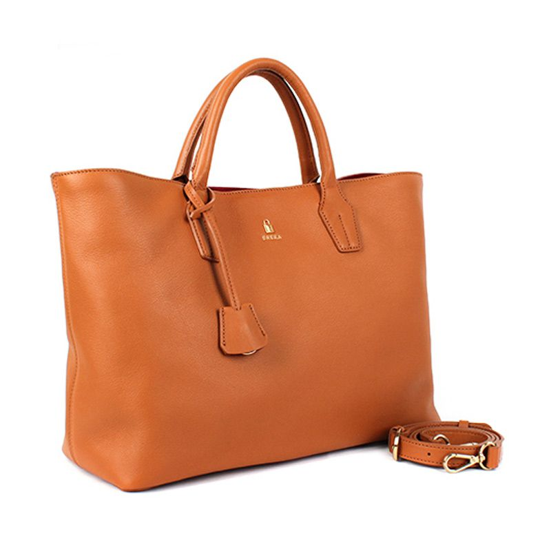 BRERA Classic Daily Soft Leather Small Brown Tas Wanita