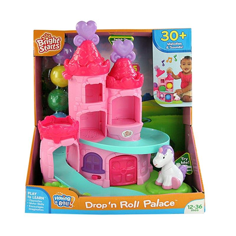 Brightstarts Having A Ball Drop 'N Roll Palace New Mainan Anak