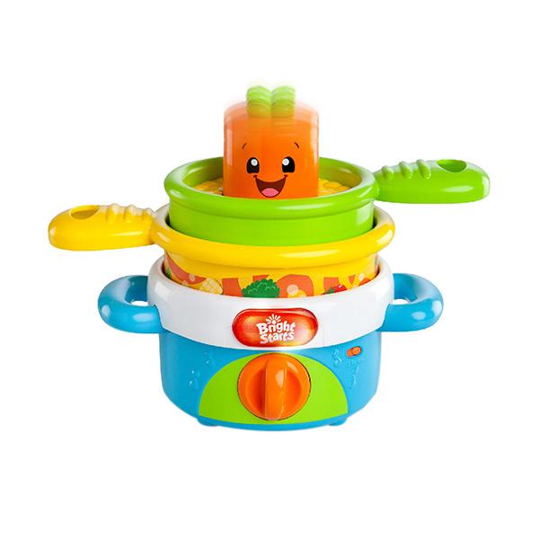 Brightstarts Stack & Giggle Pots Mainan Anak